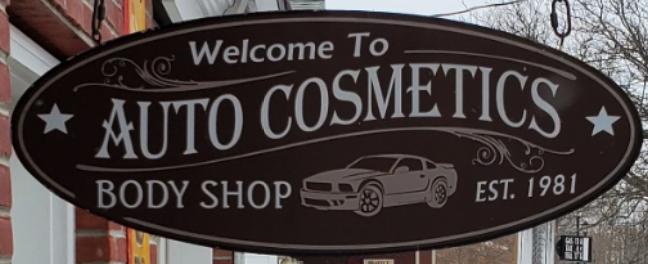 Auto Cosmetics Sign